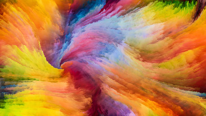 Colorful Paint Illusions