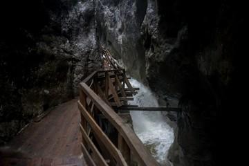 Österreich Klamm Wasserfall Alpen