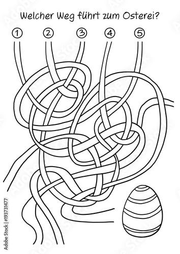 """""""oster rätsel labyrinth """" stockfotos und lizenzfreie"""