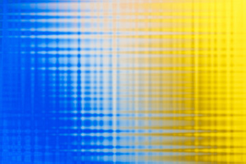 Fundo abstrato azul, amarelo e branco.
