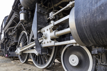 The Wheels of the Old Train
