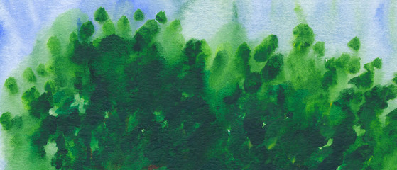 Background - abstract watercolour painting