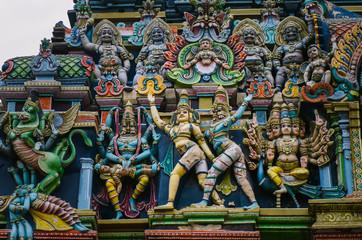 Meenakshi hindu temple in Madurai,