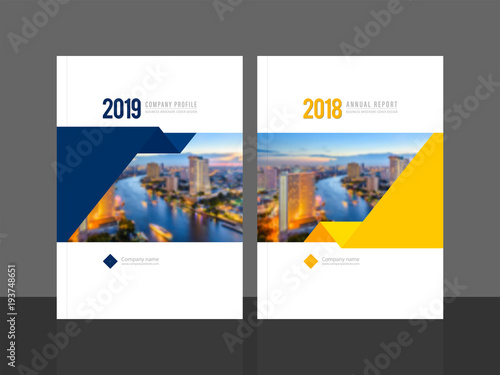 Corporate Cover Design For Annual Report And Company Profile
