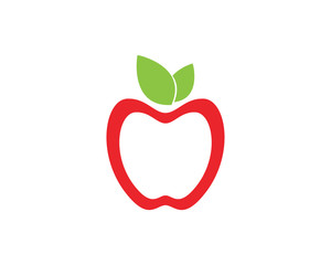 Apple vector illustration design