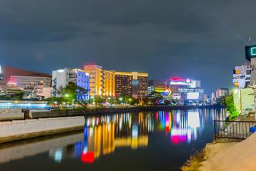 中州の夜景 Wall mural