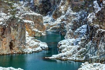冬の龍王峡