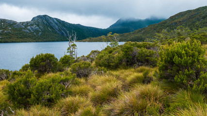 Clouds over Cradle Mountain