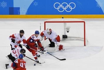 Olympics: Ice Hockey-Men Team Bronze medal match - CZE-CAN