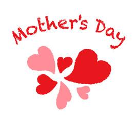母の日|飾り 手書き風シンボル