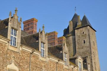 Château médiéval et renaissance de Blain, en Loire-Atlantique
