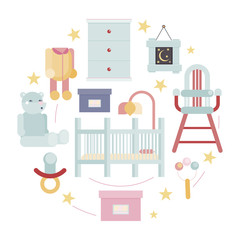 baby room concept