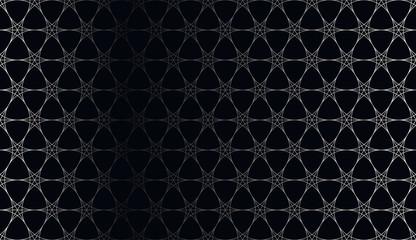 Luxury seamless ornate pattern - grid gradient texture