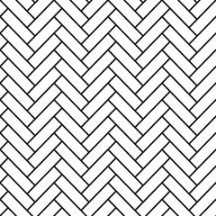 Vector geometric seamless pattern - simple design.