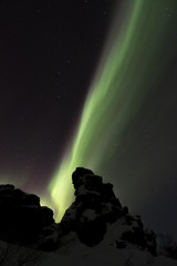 Nordlichter über Dimmuborgir