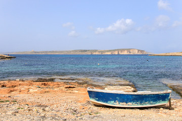 View to Comino, Malta