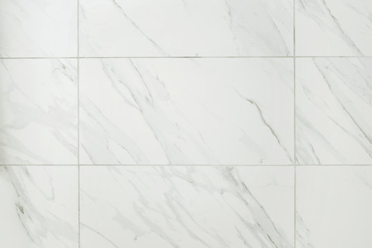 large marble tile bathroom wall