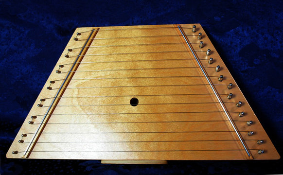 15 String Wooden Auto Harp Lap Harp Lute Zither