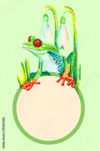 Frog template animal templates | free & premium templates.