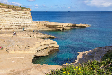 St. Peter's Pool, Malta, People
