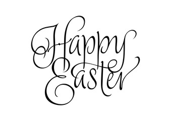 Happy Easter Inscription