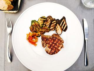 Delicious juicy steak beef meat