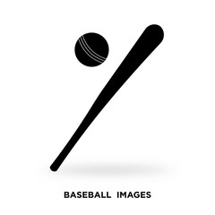 baseball images silhouette
