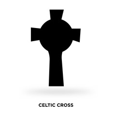 celtic cross silhouette