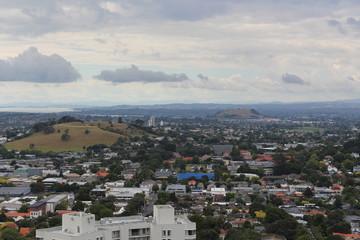 Blick über Auckland vom Mount Eden