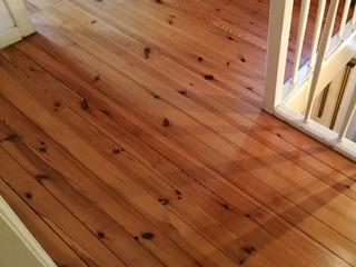 Holzdielenboden