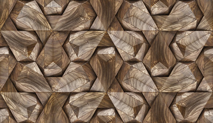 Wood design 3d panels