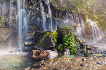 Seven Waterfalls in Juayua