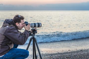sunset beach photographer