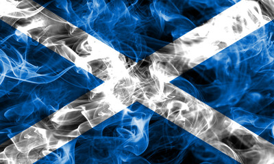 Scotland smoke flag
