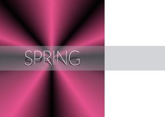 Надпись весна и атлас