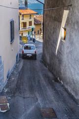 Wall Mural - Narrow winding street