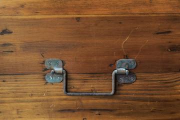 An iron handle