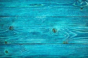 Blue wood background. Board closeup.