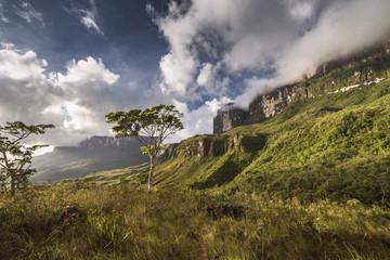 Mountains Roraima y Kukenan, Venezuela
