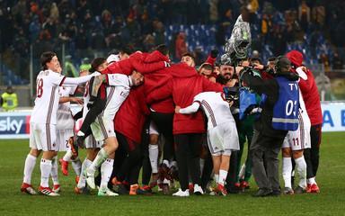 Serie A - AS Roma vs AC Milan