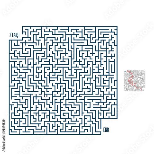 maze template