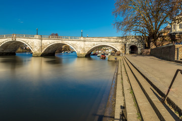 Richmond in the winter morning, London