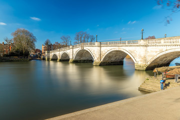 Richmond in the winter morning, London
