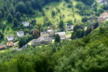 Miniaturlandschaft - Königstein