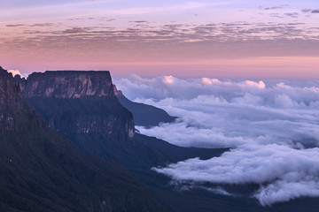 Deurstickers Zuid-Amerika land The Mount Roraima, Venezuela