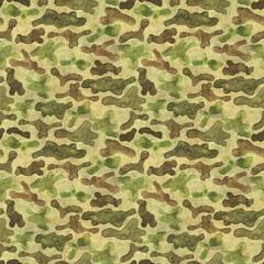 Camouflage seamless pattern background