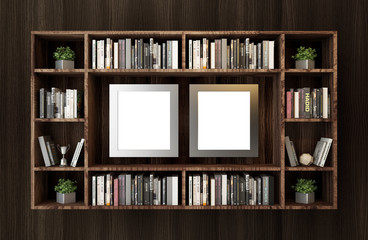 Frames and books