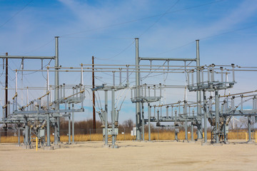 Electrical Substation in Rural Midwest