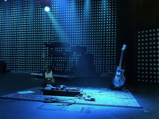 Guitars and keyboards