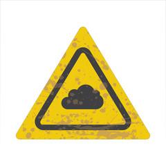 Warning/Street Sign - Cloud
